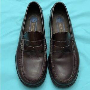 Men's Rockport Black Leather Shoes 11W